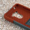 Motorola DROID TURBO - Sandstone / Gray MPERO IMPACT X - Kickstand Case Angle 5