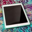 Apple iPad Air - Mint Green MPERO Flexible Matte Case Cover Angle 2