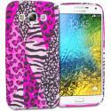 Samsung Galaxy E5 S978L Bowknot Zebra TPU Design Soft Rubber Case Cover Angle 1