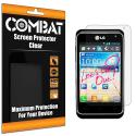 LG Motion MS770 Combat 6 Pack HD Clear Screen Protector Angle 1