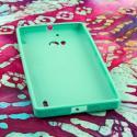 Nokia Lumia Icon - MINT GREEN MPERO FLEX S - Protective Case Cover Angle 2