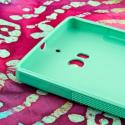 Nokia Lumia Icon - MINT GREEN MPERO FLEX S - Protective Case Cover Angle 4