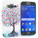 Samsung Galaxy Prevail LTE Core Prime G360P Love Tree TPU Design Soft Rubber Case Cover Angle 1