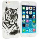 Apple iPhone 6 6S (4.7) Tiger TPU Design Soft Case Cover Angle 1