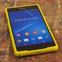 Sony Xperia Z2 - Yellow MPERO FLEX S - Protective Case Cover Angle 2