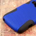 ZTE Concord 2 - Blue MPERO FUSION M - Protective Case Cover Angle 7