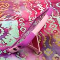 LG G Flex - Pink MPERO IMPACT X - Kickstand Case Cover Angle 4
