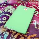 Samsung Galaxy Note 3 - Mint MPERO SNAPZ - Rubberized Case Cover Angle 3