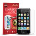 Apple iPhone 3G / 3GS GlassWorX HD Clear Tempered Glass Screen Protector Angle 1