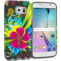 Samsung Galaxy S6 Flower Explosion TPU Design Soft Rubber Case Cover Angle 1