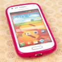 Samsung Galaxy Prevail 2 - Hot Pink MPERO FLEX S - Protective Case Cover Angle 2