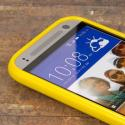 HTC One Mini 2 - Yellow MPERO FLEX S - Protective Case Cover Angle 4