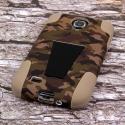 Samsung Galaxy S4 - Hunter Camo MPERO IMPACT X - Kickstand Case Cover Angle 3