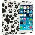 Apple iPhone 6 Plus 6S Plus (5.5) Dog Paw TPU Design Soft Rubber Case Cover Angle 1