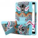 LG G Stylo - Aqua Safari MPERO IMPACT X - Kickstand Case Cover Angle 1