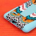 LG G Stylo - Aqua Safari MPERO IMPACT X - Kickstand Case Cover Angle 7