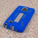 Samsung Galaxy Note 4 - Blue MPERO IMPACT XL - Kickstand Case Cover Angle 3