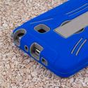 Samsung Galaxy Note 4 - Blue MPERO IMPACT XL - Kickstand Case Cover Angle 6