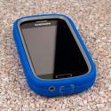 Samsung Galaxy Light - Blue MPERO IMPACT XL - Kickstand Case Cover Angle 2