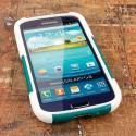 Samsung Galaxy S3 - Teal Green MPERO IMPACT X - Kickstand Case Cover Angle 2