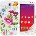 LG Volt LS740 Flower Painting TPU Design Soft Rubber Case Cover Angle 1