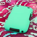 Blackberry Curve 9310/ 9315 - Mint Green MPERO SNAPZ - Rubberized Case Cover Angle 3