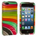 Apple iPhone 5/5S/SE Candy Bar Hard Rubberized Design Case Cover Angle 2