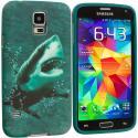 Samsung Galaxy S5 Shark TPU Design Soft Case Cover Angle 2