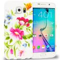 Samsung Galaxy S6 Flower Painting TPU Design Soft Rubber Case Cover Angle 1