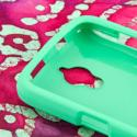Huawei Vitria - Mint Green MPERO SNAPZ - Rubberized Case Cover Angle 4