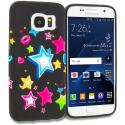 Samsung Galaxy S7 Colorful Shooting Star TPU Design Soft Rubber Case Cover Angle 1