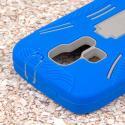 Kyocera Hydro Icon - Blue MPERO IMPACT XL - Kickstand Case Cover Angle 6