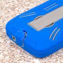 Kyocera Hydro Icon - Blue MPERO IMPACT XL - Kickstand Case Cover Angle 7