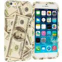 Apple iPhone 6 Plus 6S Plus (5.5) Money TPU Design Soft Rubber Case Cover Angle 1