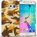 Samsung Galaxy S6 Camo TPU Design Soft Rubber Case Cover Angle 1