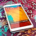 Samsung Galaxy Note 3 - Mint Chevron MPERO SNAPZ - Rubberized Case Cover Angle 2