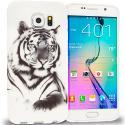 Samsung Galaxy S6 Tiger TPU Design Soft Rubber Case Cover Angle 1