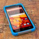 ZTE Max - BLUE/GRAY MPERO IMPACT X - Kickstand Case Cover Angle 2