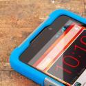 ZTE Max - BLUE/GRAY MPERO IMPACT X - Kickstand Case Cover Angle 5