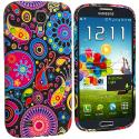 Samsung Galaxy S4 Rainbow Fish TPU Design Soft Case Cover Angle 2