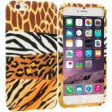 Apple iPhone 6 Plus 6S Plus (5.5) Mix Animal Skin TPU Design Soft Rubber Case Cover Angle 1