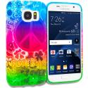 Samsung Galaxy S7 Edge Flower Power TPU Design Soft Rubber Case Cover Angle 1