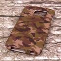 Samsung Galaxy S6 - Green Camo MPERO SNAPZ - Case Cover Angle 3