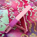 Apple iPhone 5/5S/SE - Pink MPERO IMPACT X - Kickstand Case Cover Angle 4