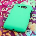 Kyocera Event - Mint MPERO SNAPZ - Rubberized Case Cover Angle 3