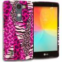 LG Escape 2 Logos Spirit LTE Bowknot Zebra TPU Design Soft Rubber Case Cover Angle 1