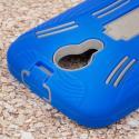 BLU Studio 5.0 - Blue MPERO IMPACT XL - Kickstand Case Cover Angle 6