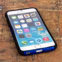 Apple iPhone 6/6S - Blue MPERO FUSION M - Protective Case Cover Angle 2
