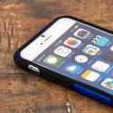 Apple iPhone 6/6S - Blue MPERO FUSION M - Protective Case Cover Angle 4
