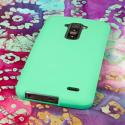 LG G FLEX - Mint Green MPERO SNAPZ - Rubberized Case Cover Angle 3